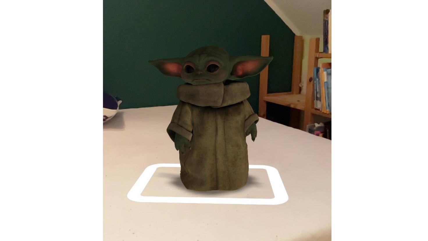 Baby Yoda AR