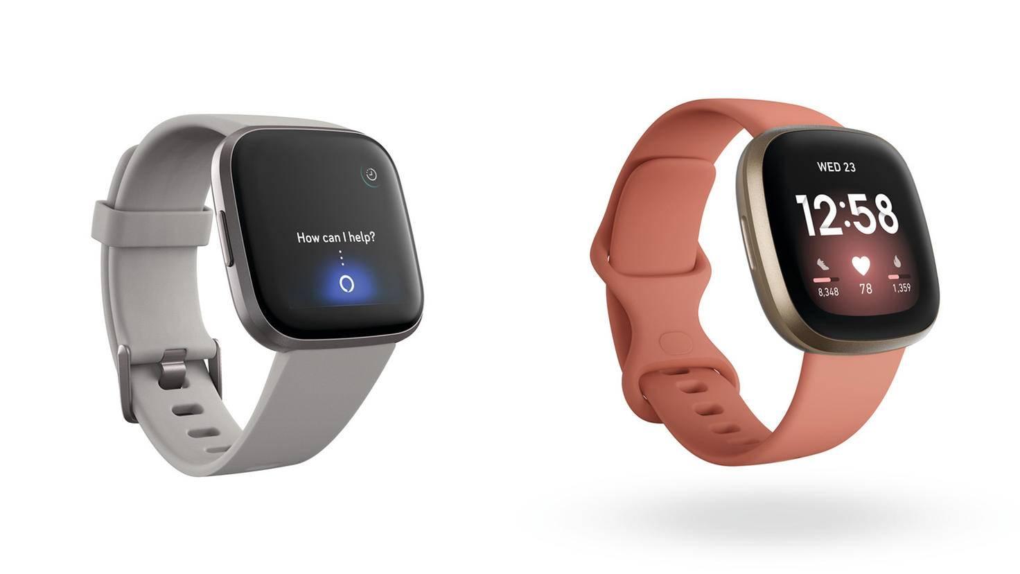 Fitbit Versa 2 und Versa 3 Vergleich Design