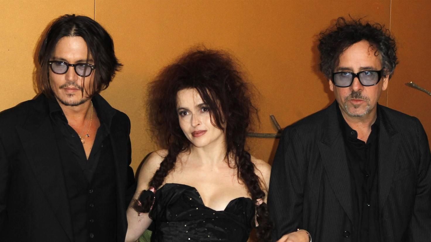 Johnny Depp Helena Bonham Carter Tim Burton