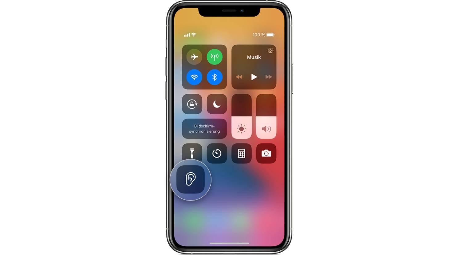 Live-Mithören iOS