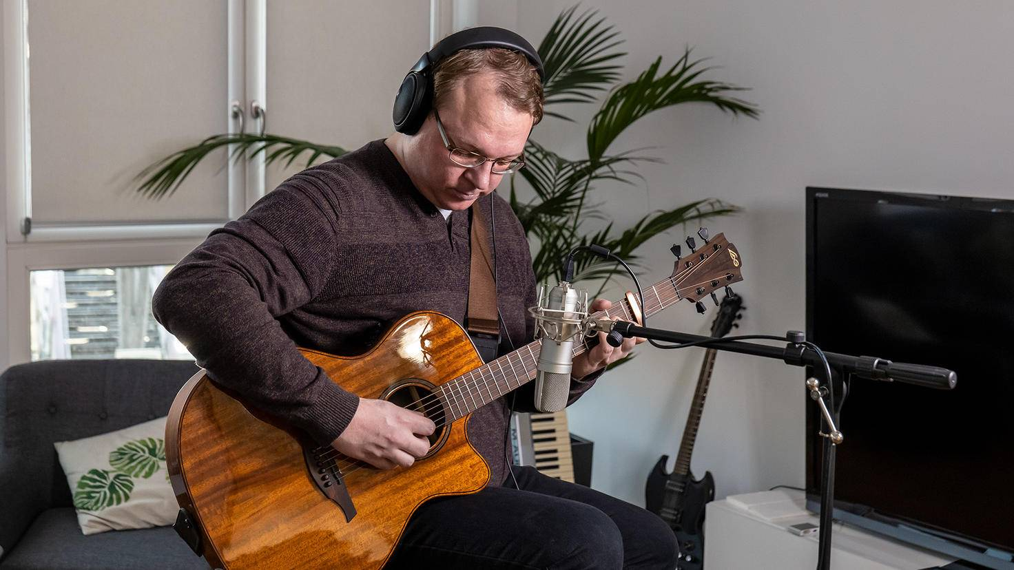 Sennheiser-HD-560S-Westerngitarre-Recording