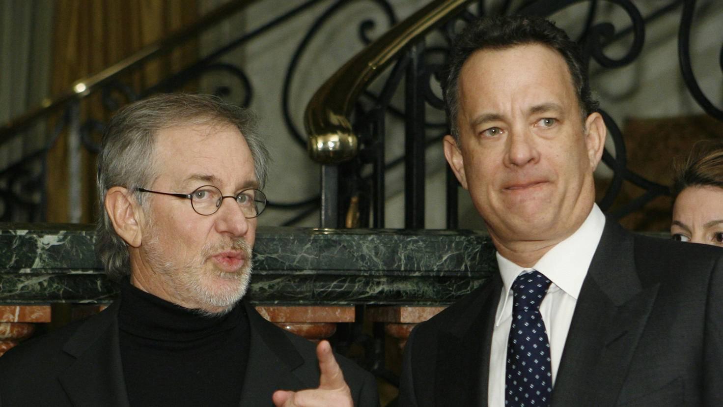 Steven Spielberg Tom Hanks