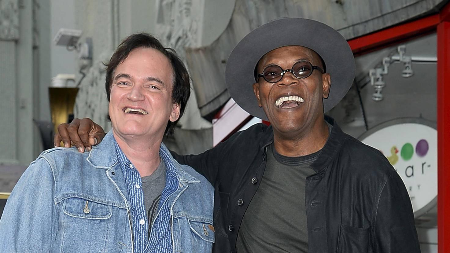 Quentin Tarantino Samuel L Jackson