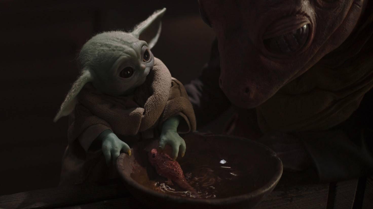 THE MANDALORIAN Baby Yoda Grogu