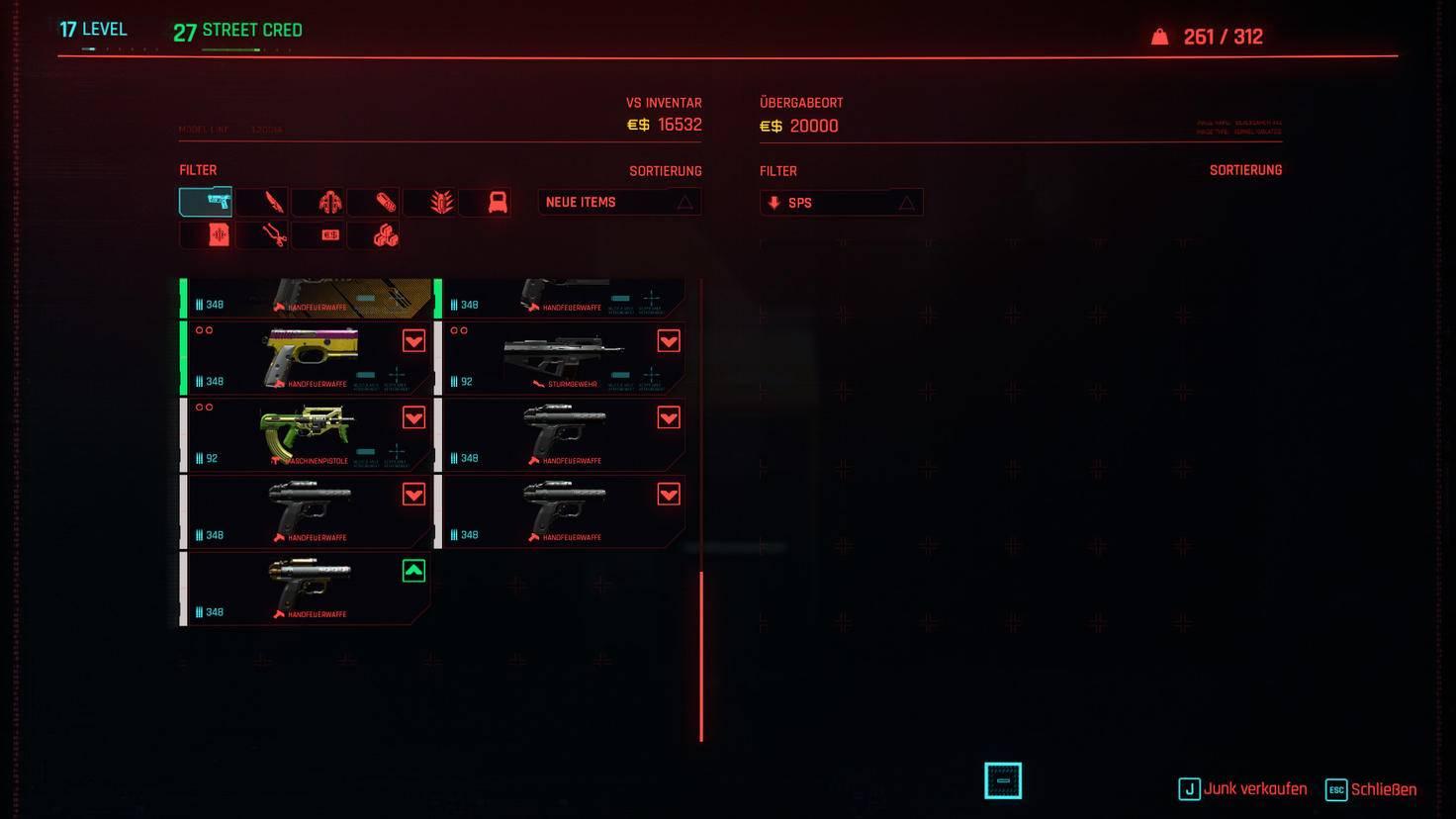cyberpunk-2077-waffen-inventar