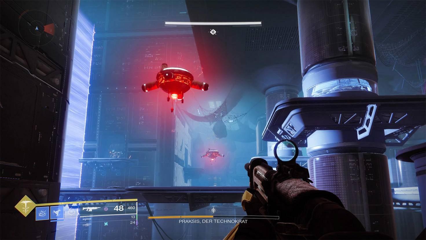 Destiny 2 Praksis Bossraum