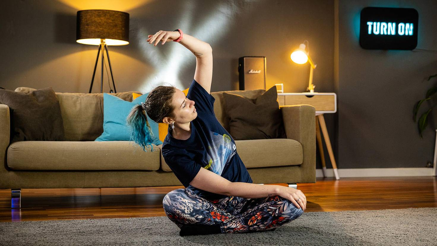 Yoga mit Fitbit Inspire 2