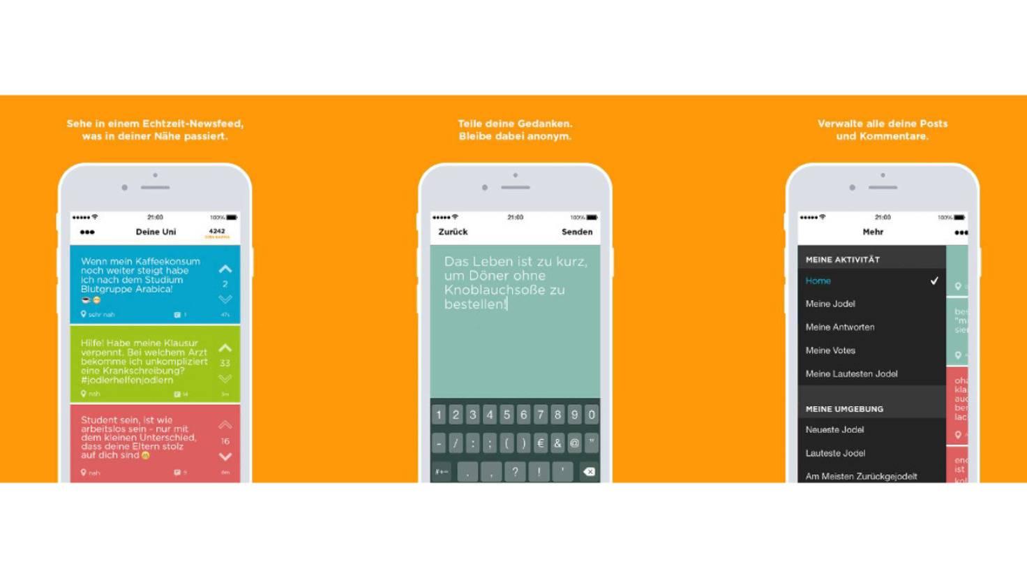 Jodel App funktionsweise