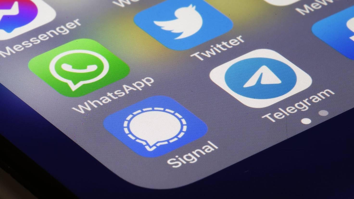 Messenger auf dem Handy