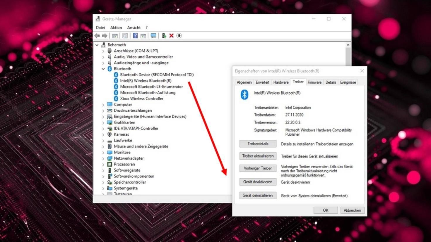 Windows-10-Treiber-deinstallieren