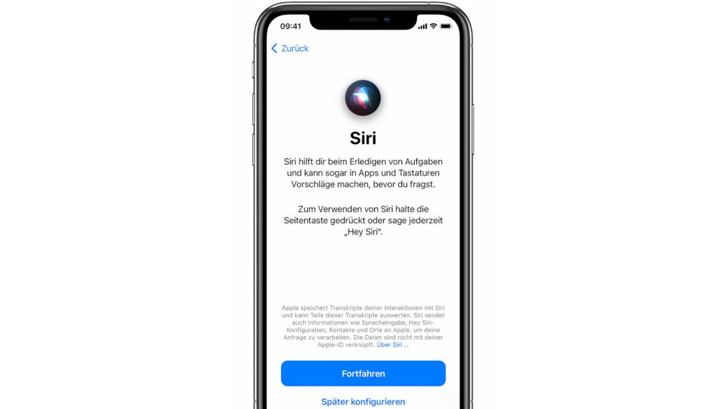 Neues iPhone einrichten