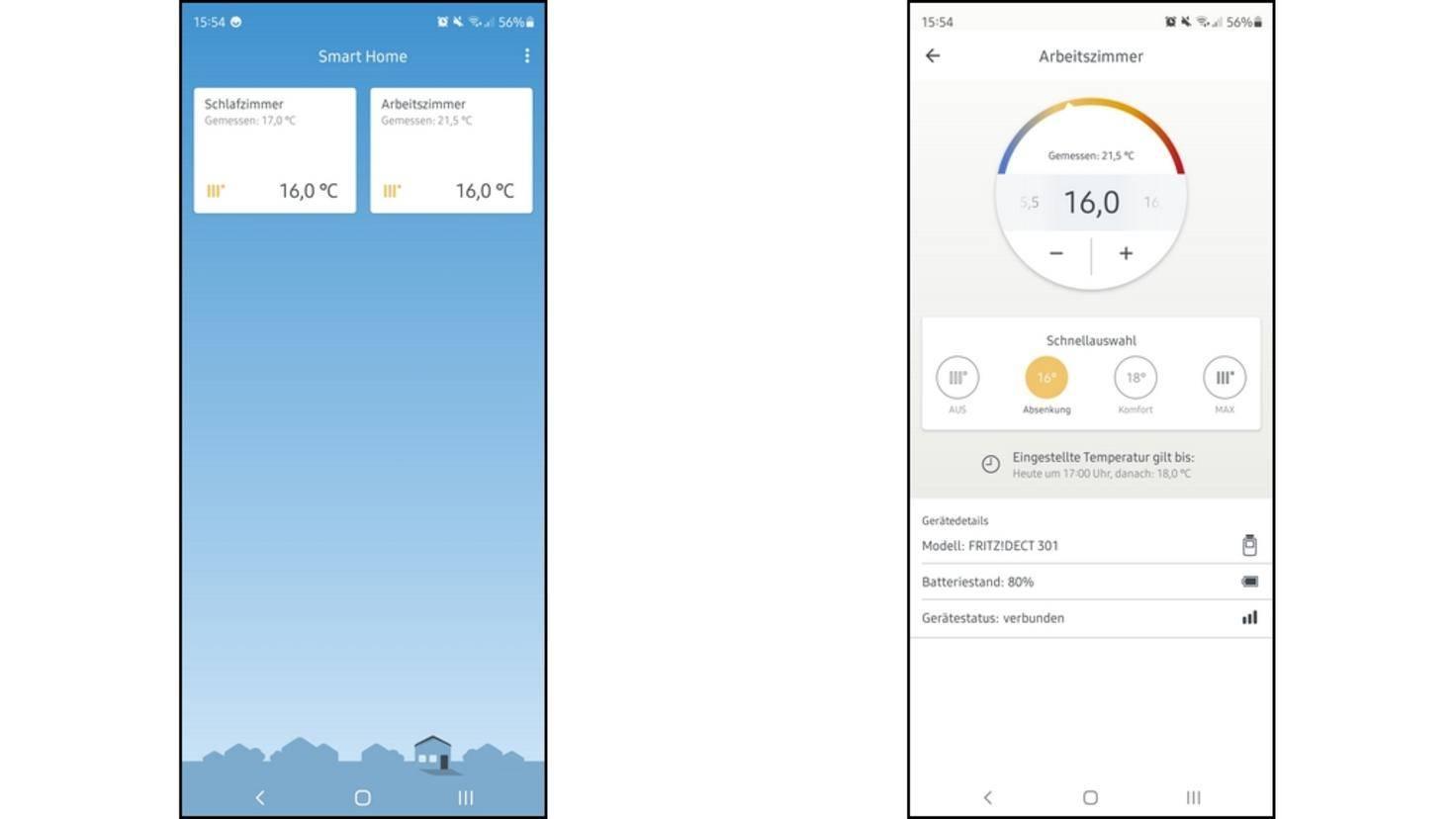 Fritz-Smart-Home-App