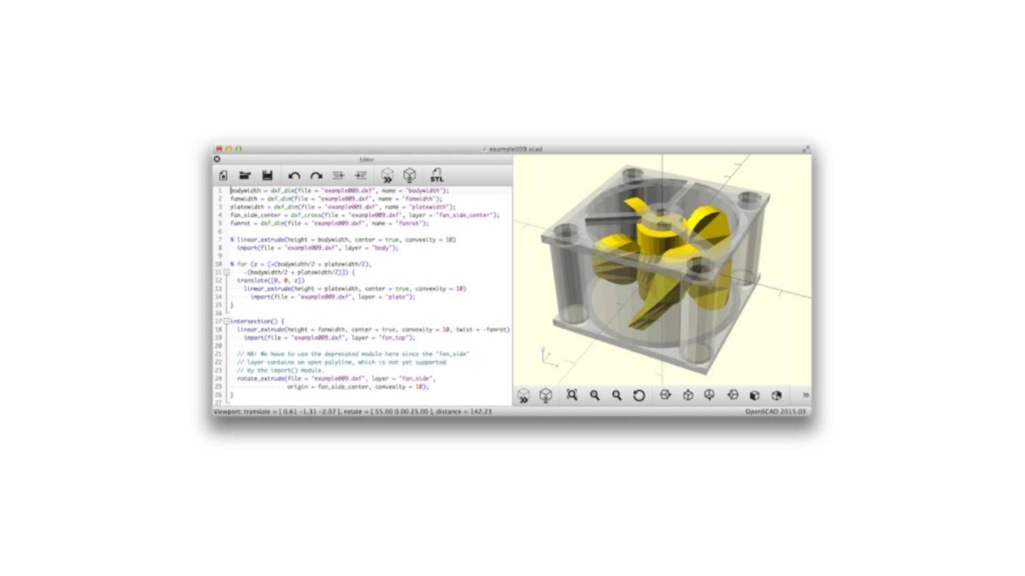 open-scad-3d-drucken-software
