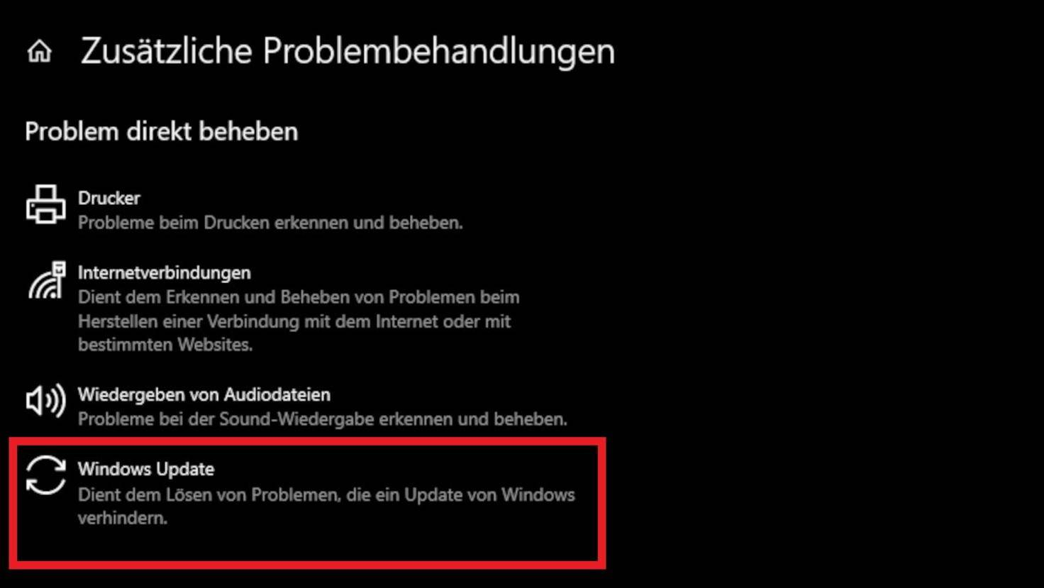 windows-10-windows-update-problembehandlung