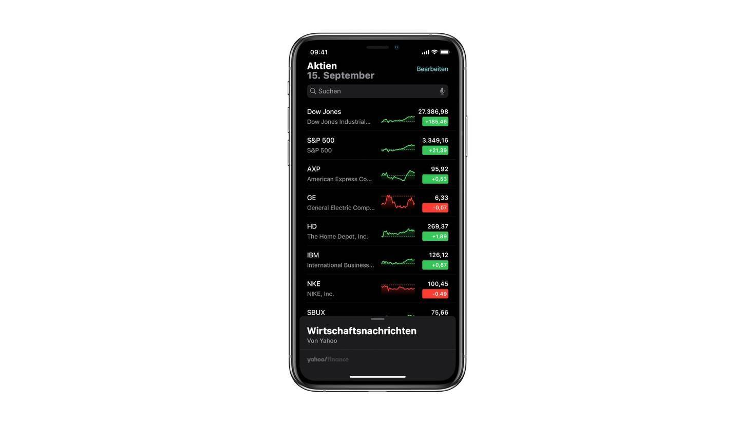 aktien-app-iphone