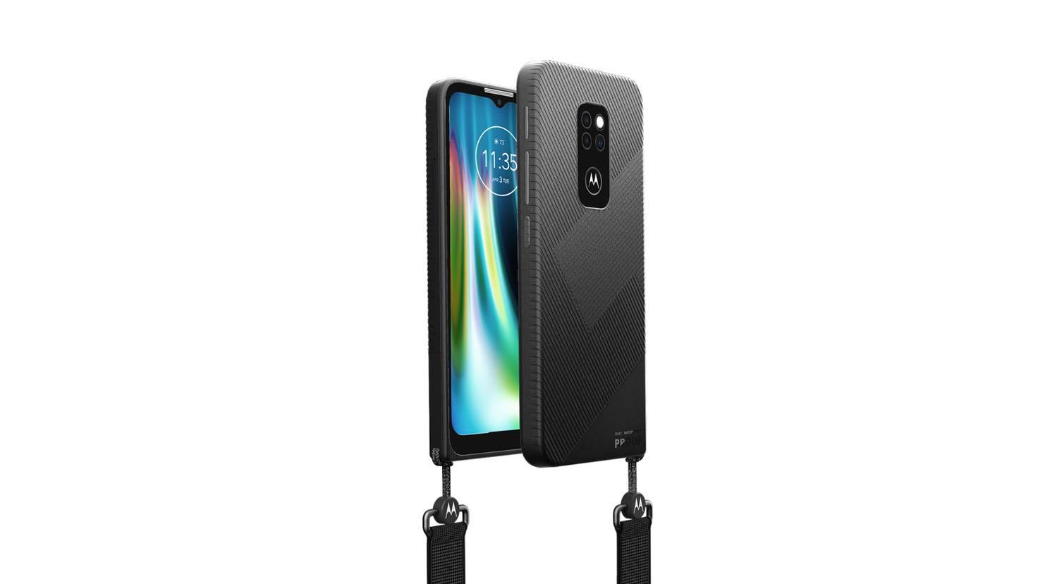 Für ein Outdoor-Smartphone sieht das Defy sehr schlicht und unauffällig aus.