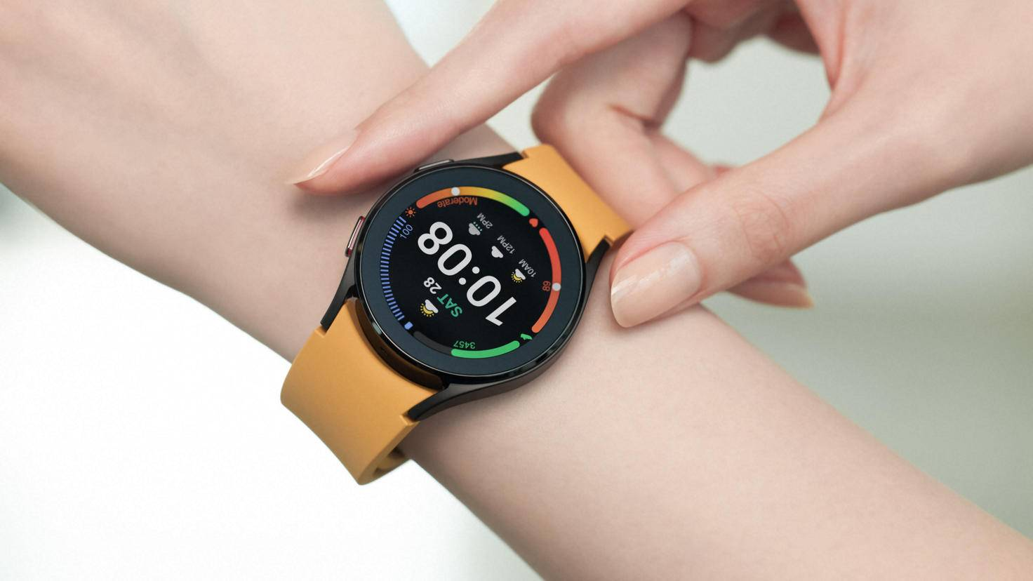 Die Galaxy Watch 4 bietet neben GPS zahlreiche Gesundheitsfunktionen.