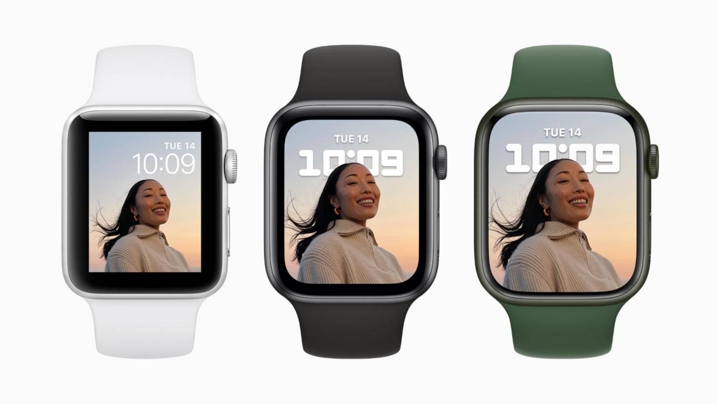 Apple Watch Series 3, Series 6 und Series 7