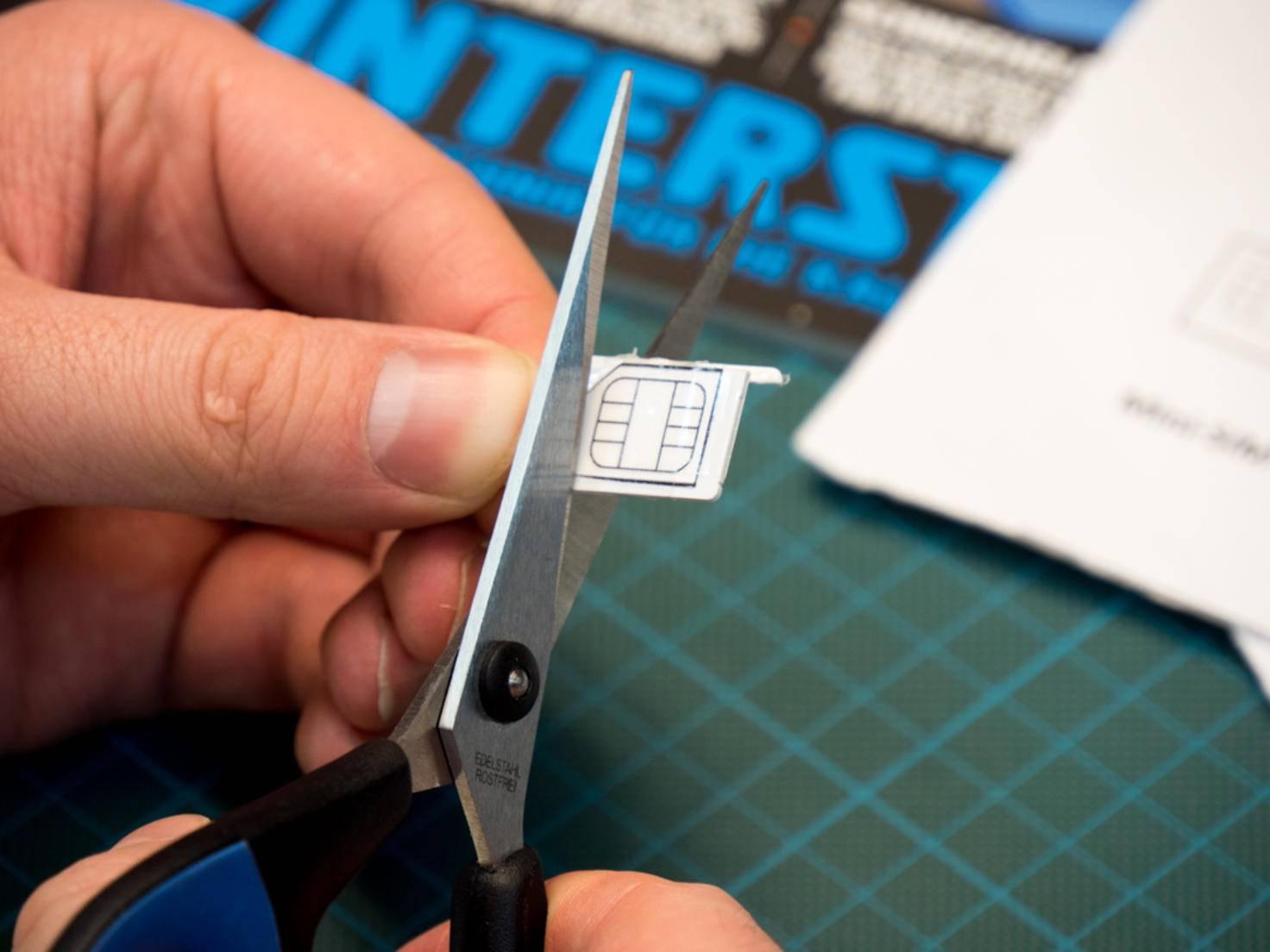 Nano Sim Karte Schablone Originalgrosse.Sim Karte Wechseln Und Tauschen Das Ist Zu Beachten