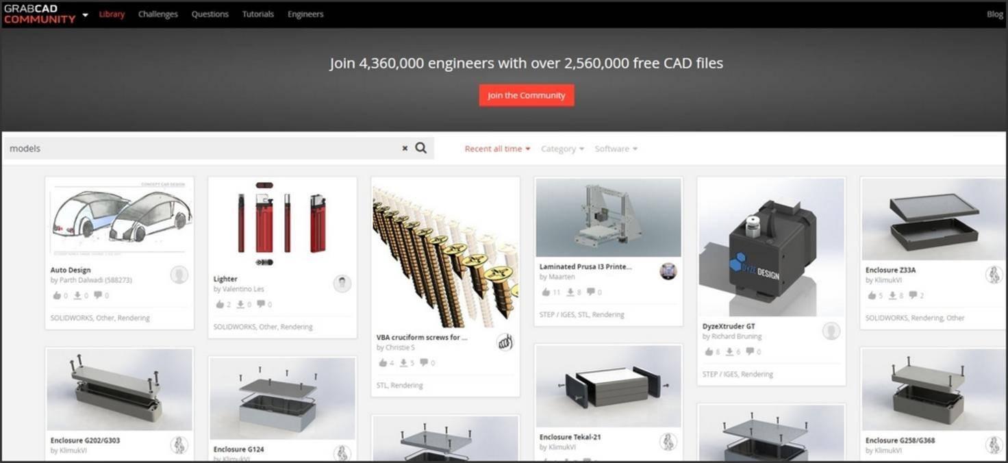 3d Drucker Vorlagen Top 3 Websites Meine 10