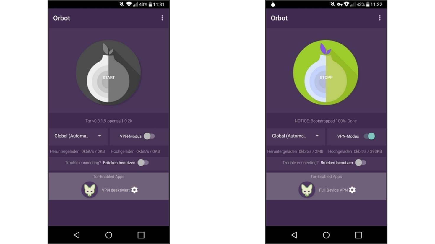 Tor-Browser in Android richtig einrichten: So geht's