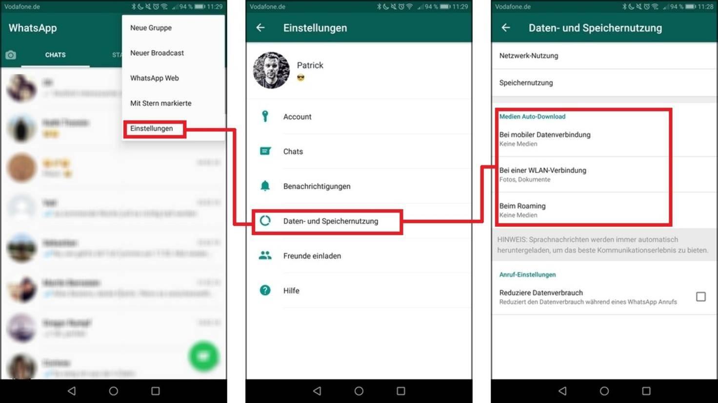 Whatsapp Bilder Auf Sd Karte Speichern So Gehts