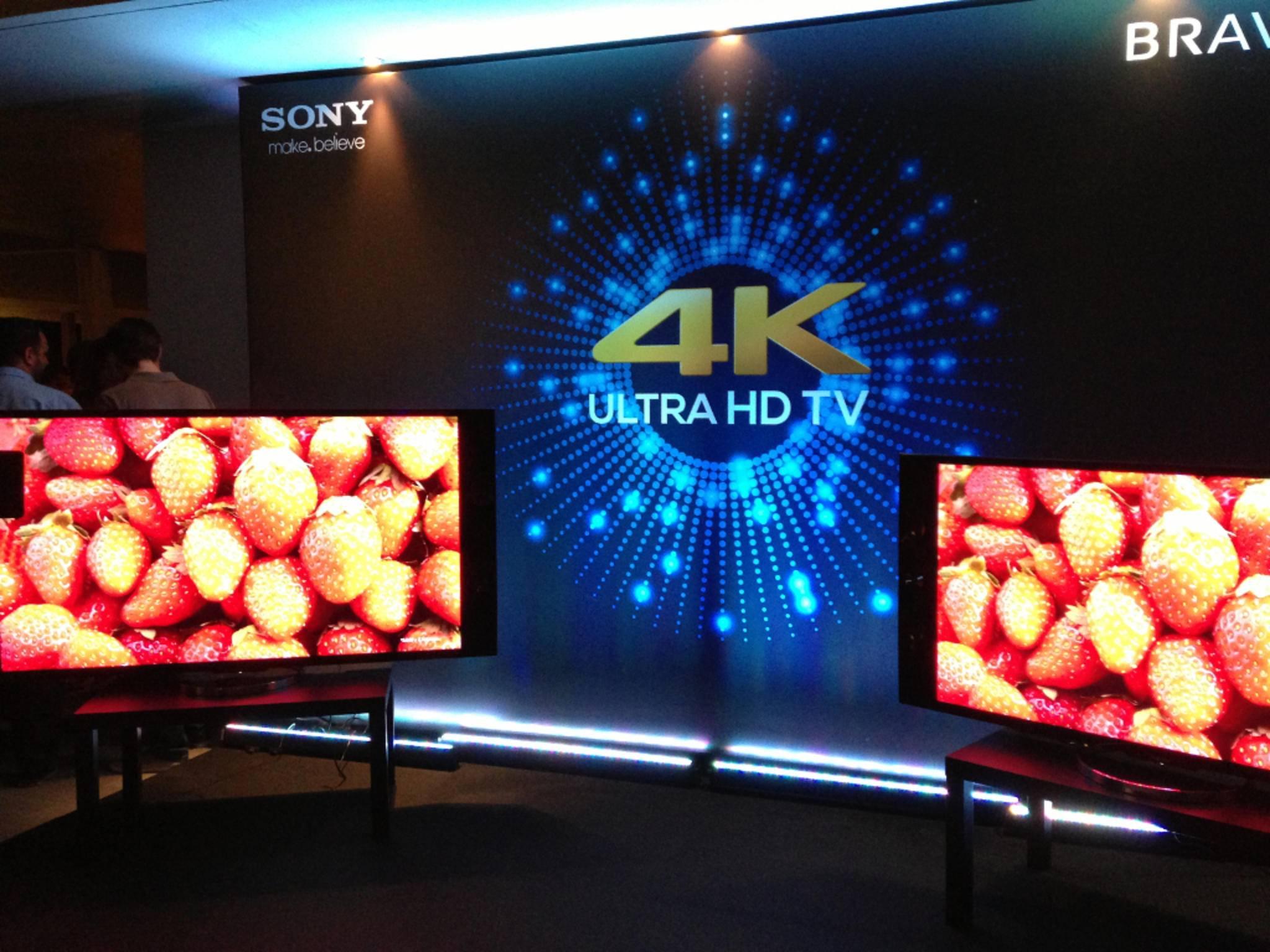 Fernseher mit 4K-Auflösung