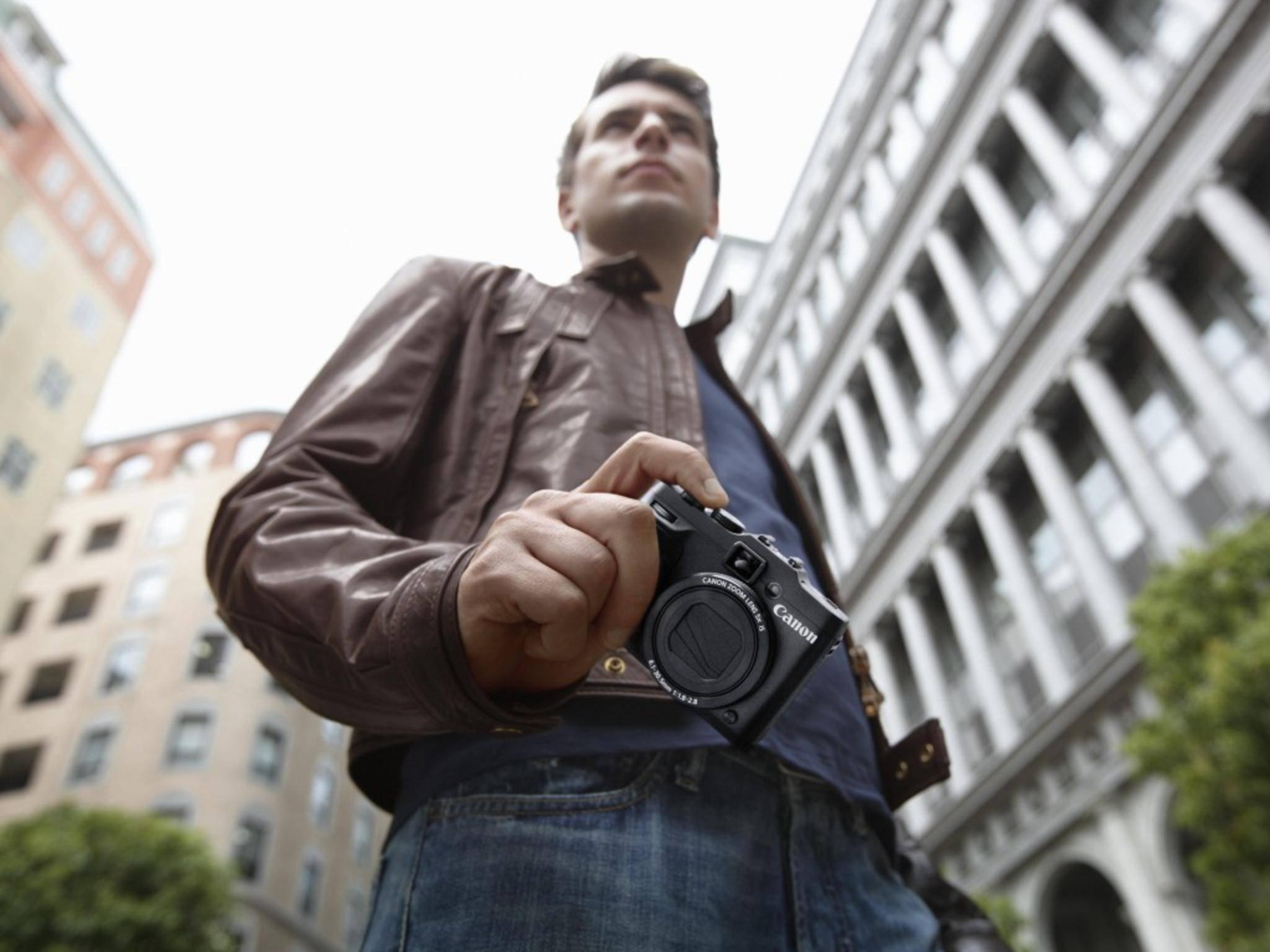 Auch die Canon PowerShot G16 verfügt über ein WLAN-Modul.