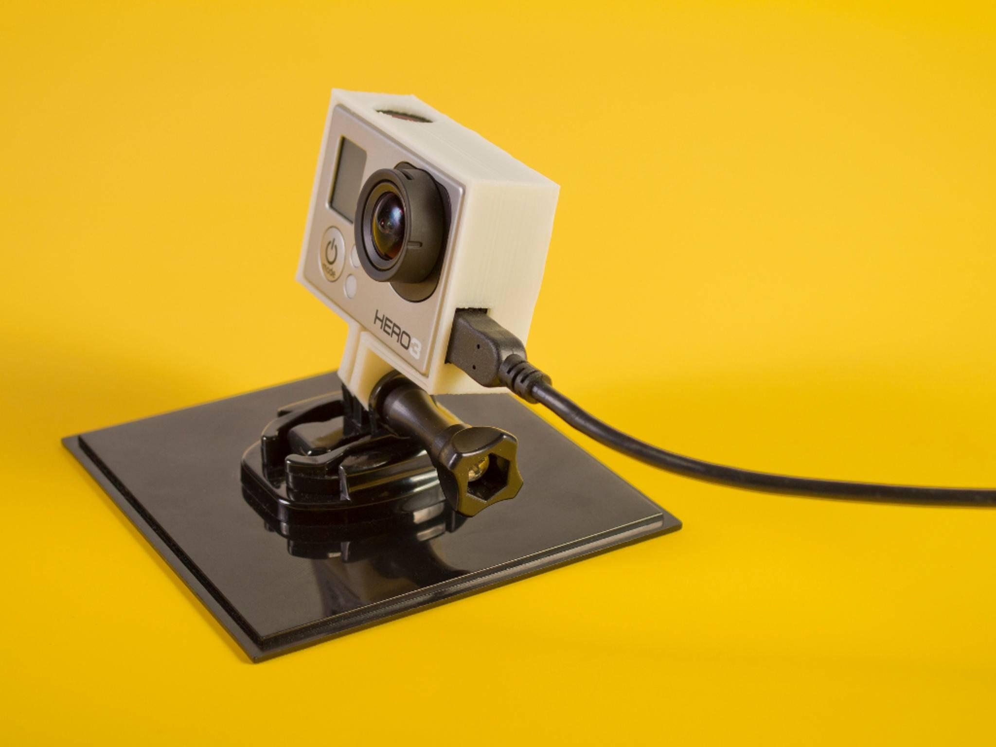 Das Markenzeichen von GoPro sind die Hero-Kameras.