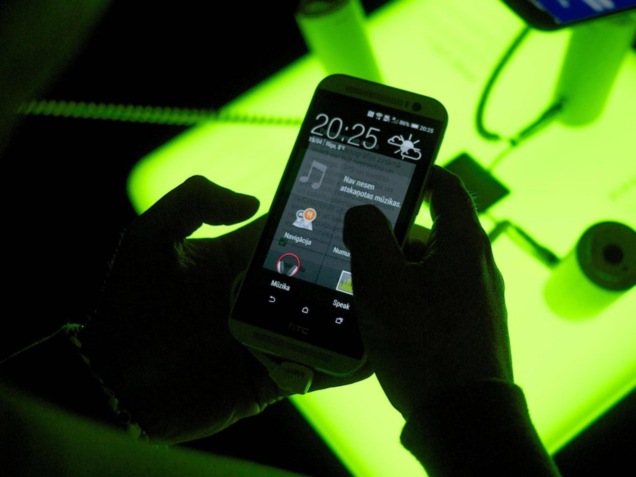 GSM-Codes ermöglichen den Zugriff auf ein verstecktes Service-Menü.