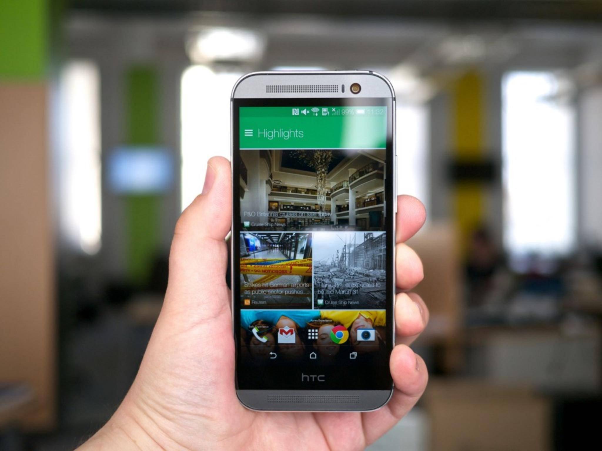 Zu guter Letzt: Das HTC One.