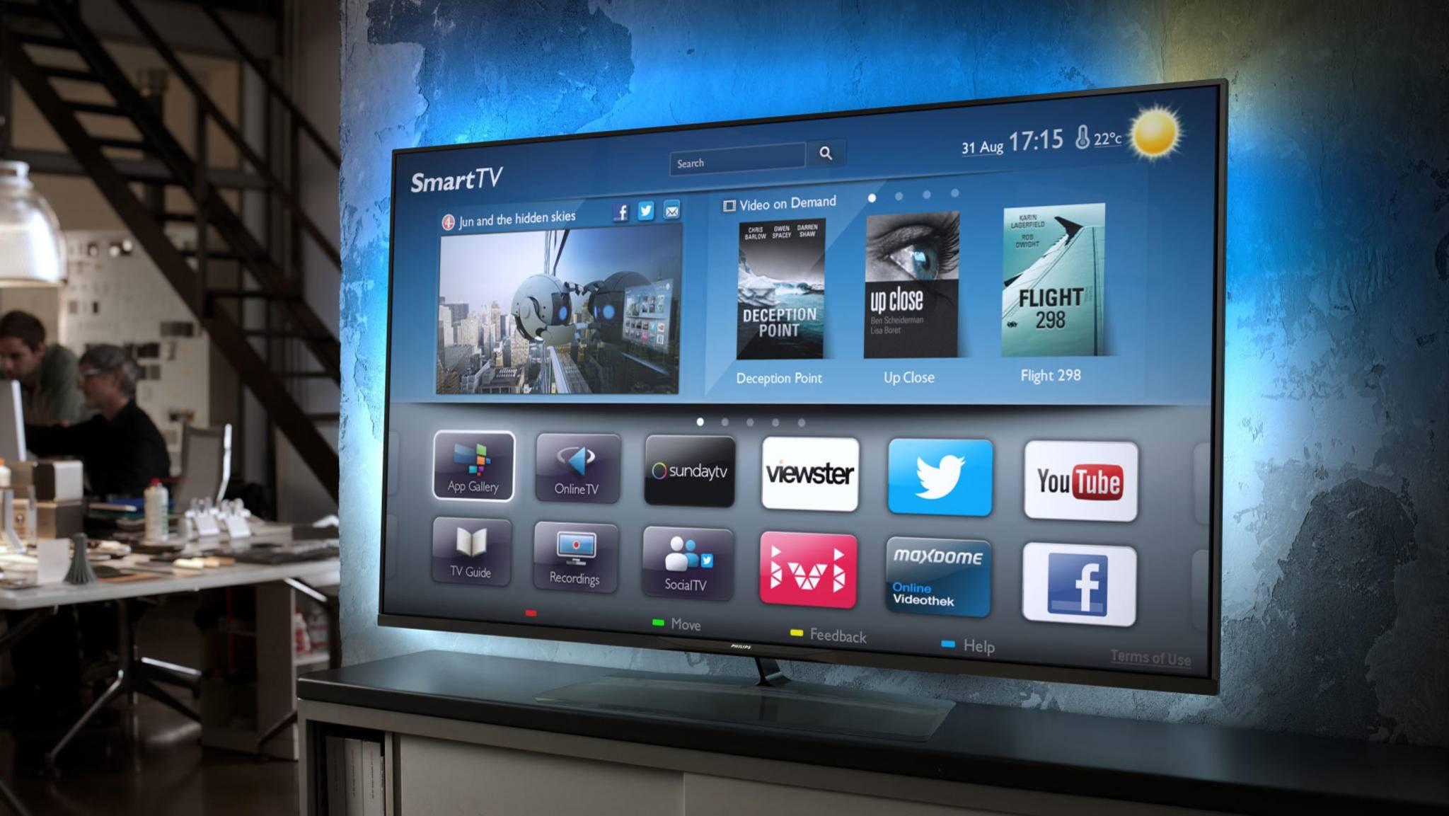Smart TVs erobern längst die Wohnzimmer.