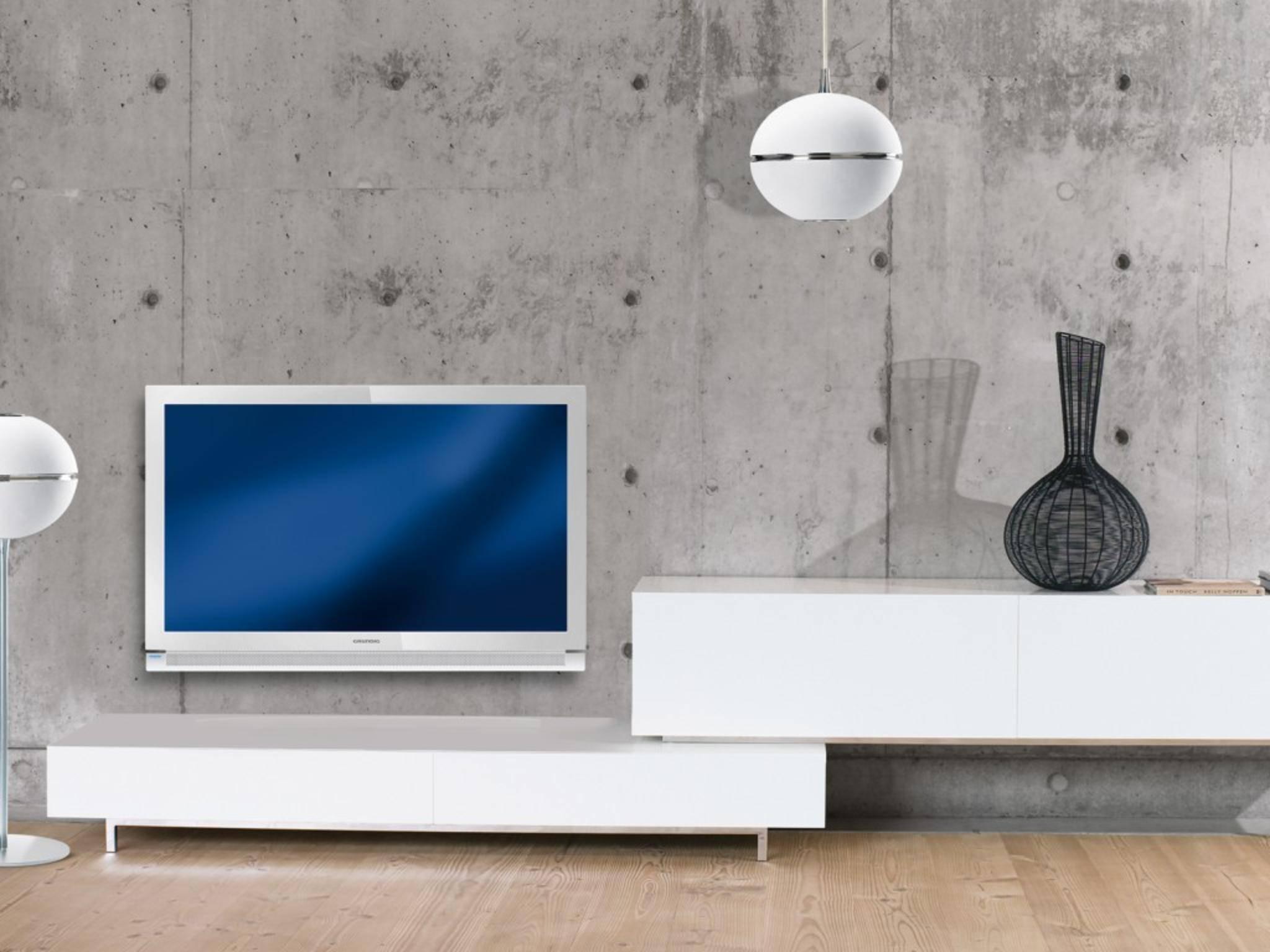 Starre TV-Wandhalterungen sollten auf Sichthöhe angebracht werden.
