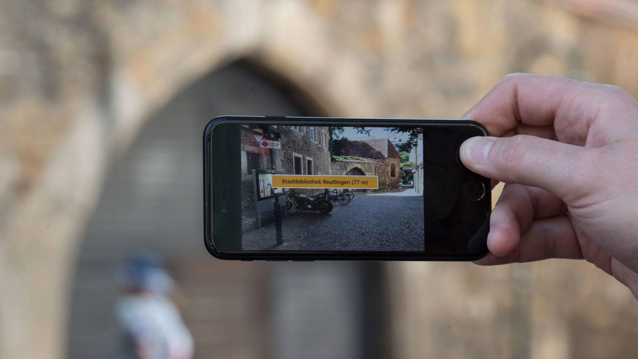 Interaktive Landkarten sind nur einer von vielen Anwendungsbereichen für Augmented Reality.