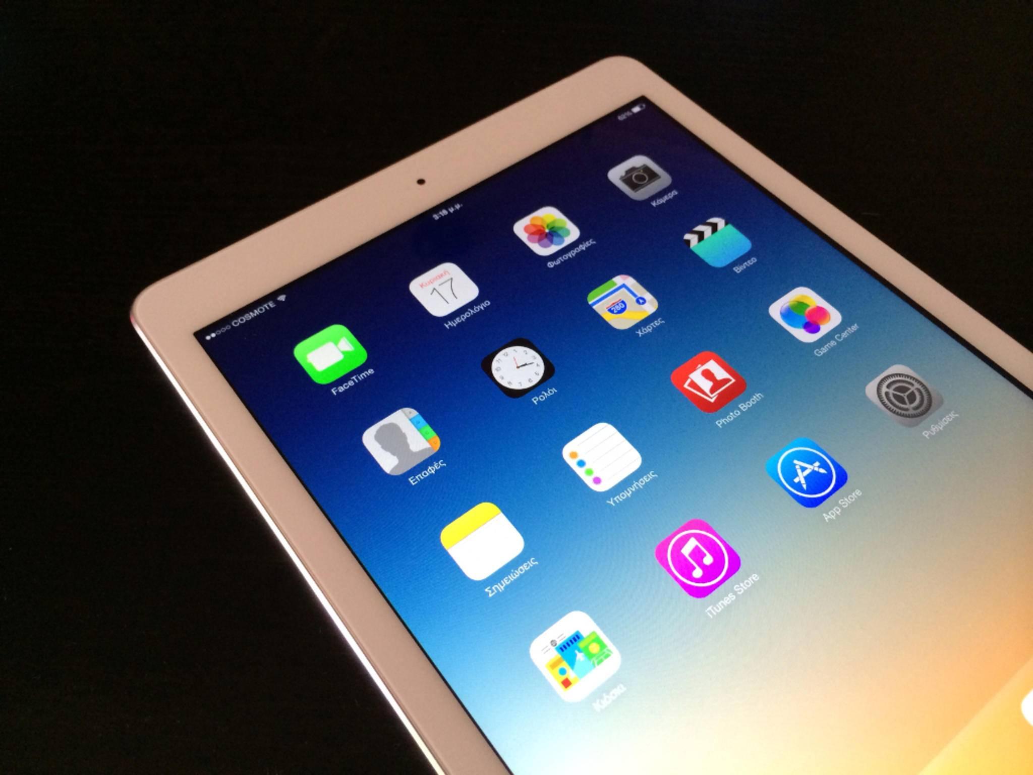 Wenn das iPad nicht mehr reagiert, hilft im Notfall ein Hard Reset.