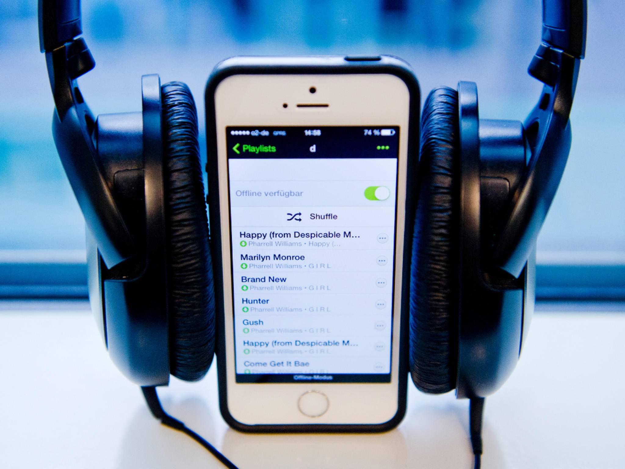 Musik kann auch ohne iTunes vom iPhone gelöscht werden.