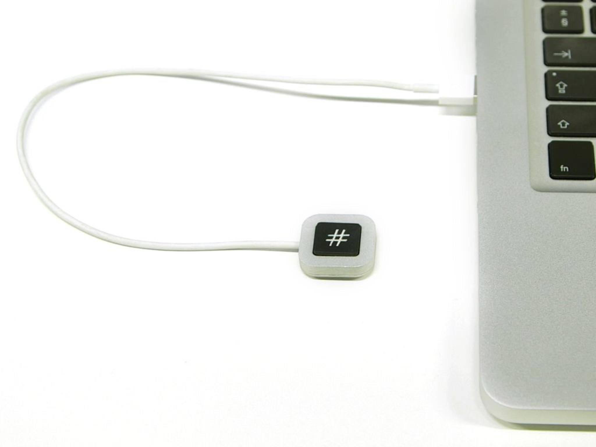 Tastatur mit nur einer Taste: HashKey soll Mac-Usern das Leben erleichtern.