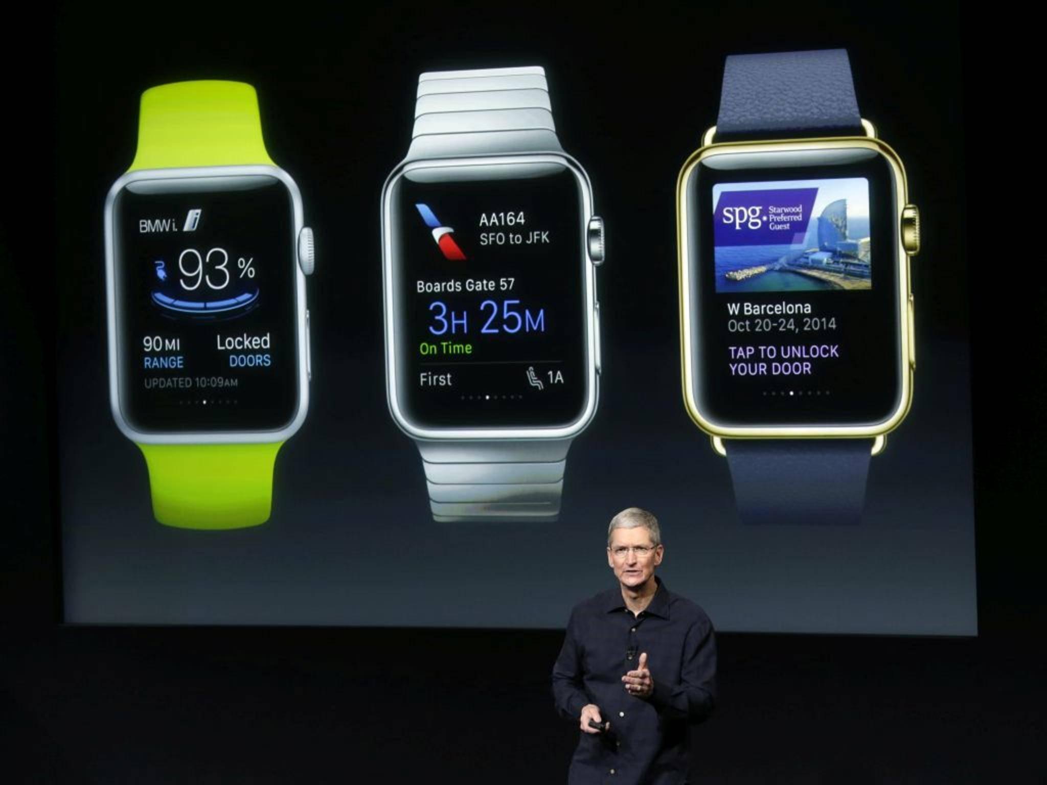 Die Apple Watch könnte sich im ersten Jahr bis zu 20 Millionen Mal verkaufen.