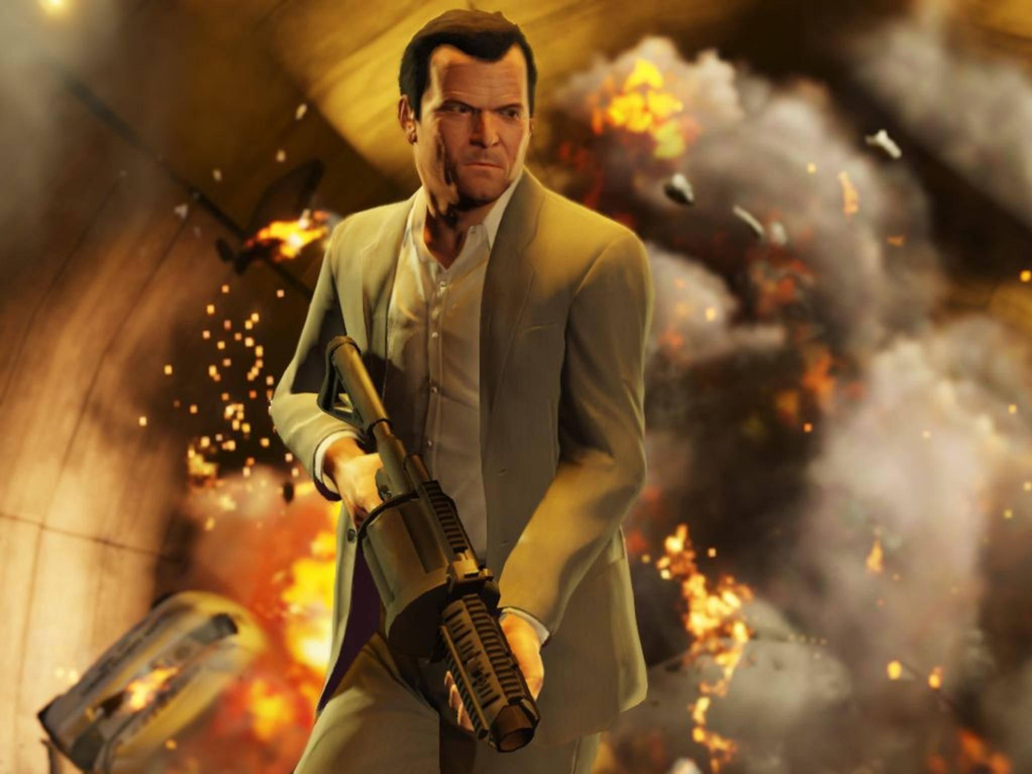 """in """"GTA 5"""" sind der Fantasie nahezu keine Grenzen gesetzt."""
