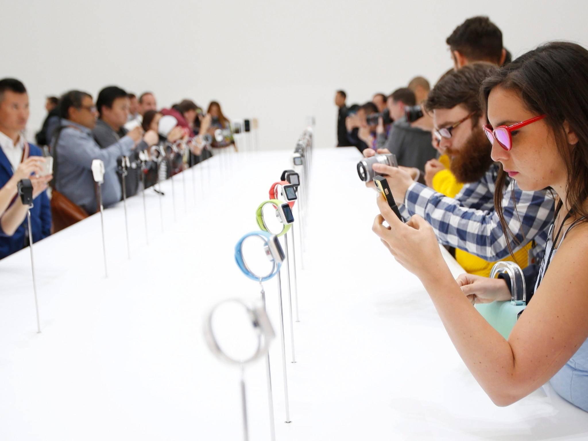 Die Apple Watch wurde am 9. September enthüllt.
