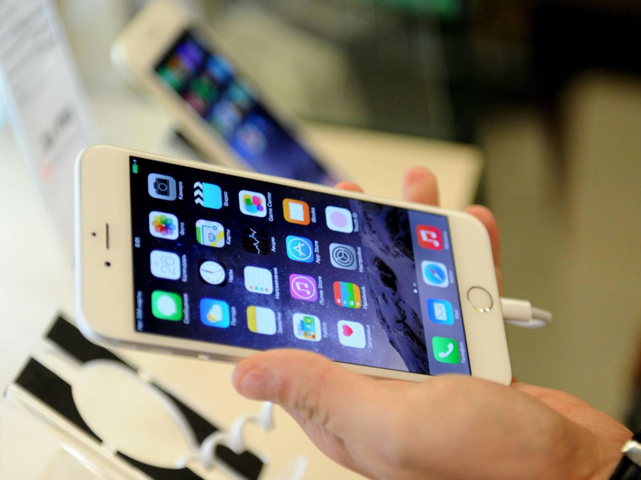 Diverse Käufer des iPhone 6 Plus beschweren sich über verschwommene Fotos.