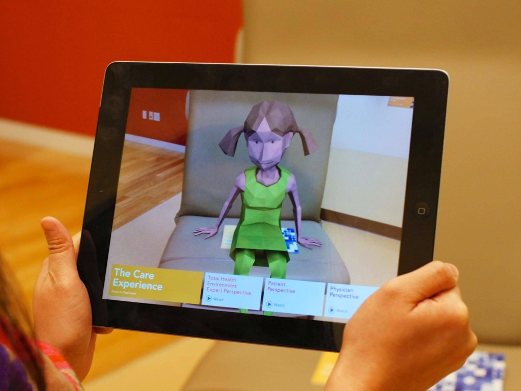 Augmented Reality-Anwendungen erweitern die Realität um computergenerierte Informationen.