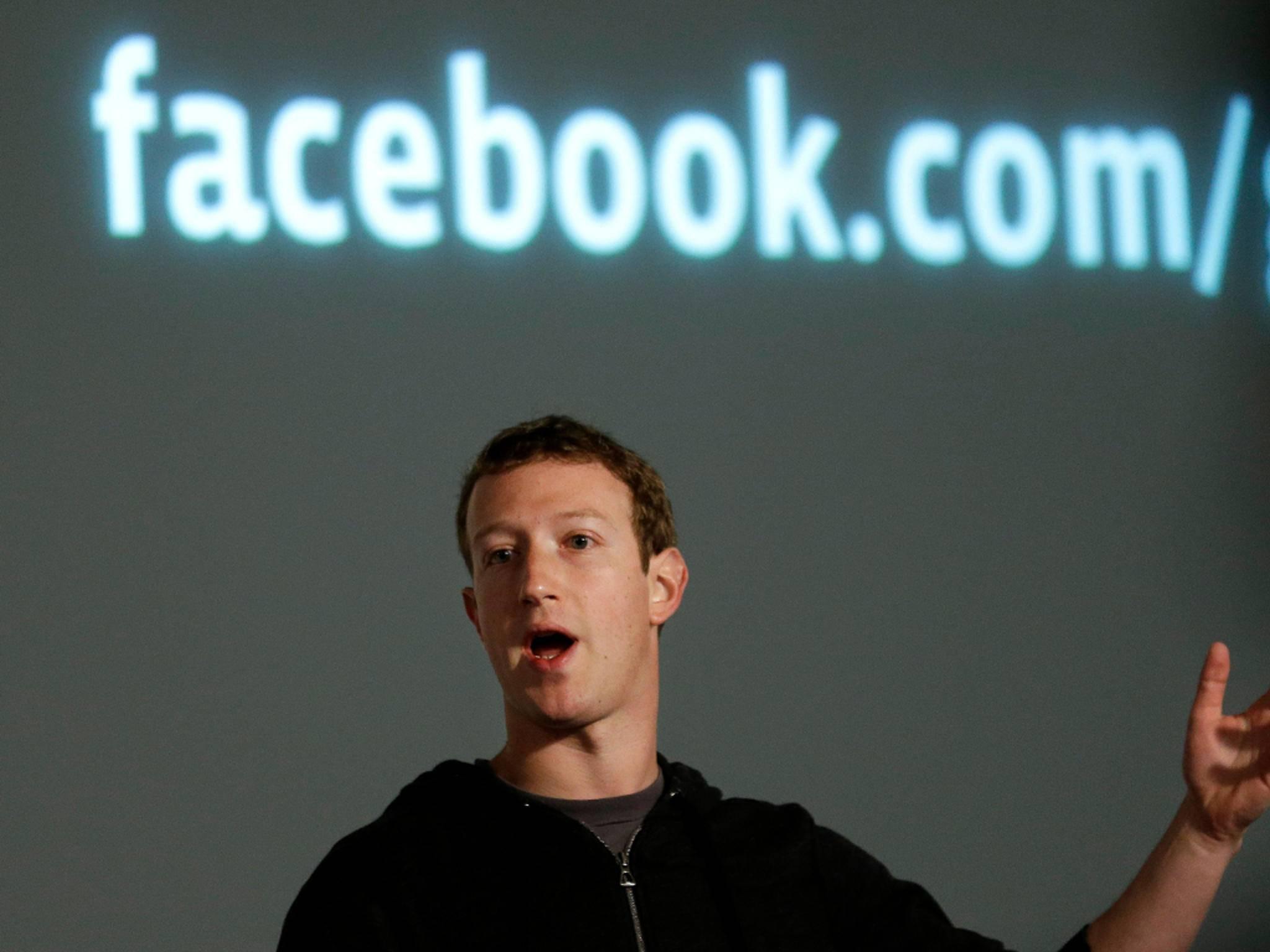 Facebook-Chef Mark Zuckerberg wolte mit dem Facebook Messenger Chatten vereinfachen.