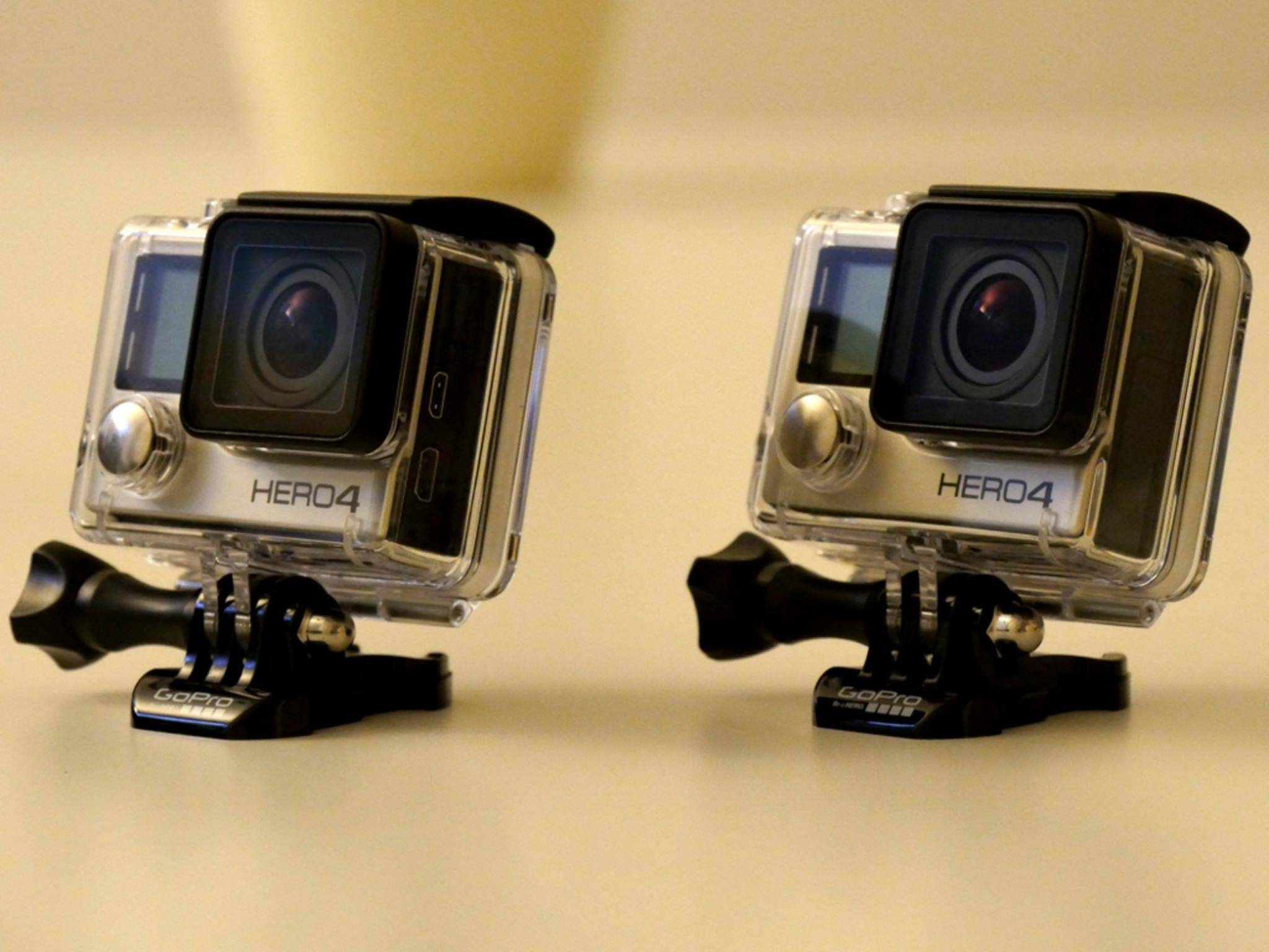 GoPro Hero 4 Silver und Black Edition