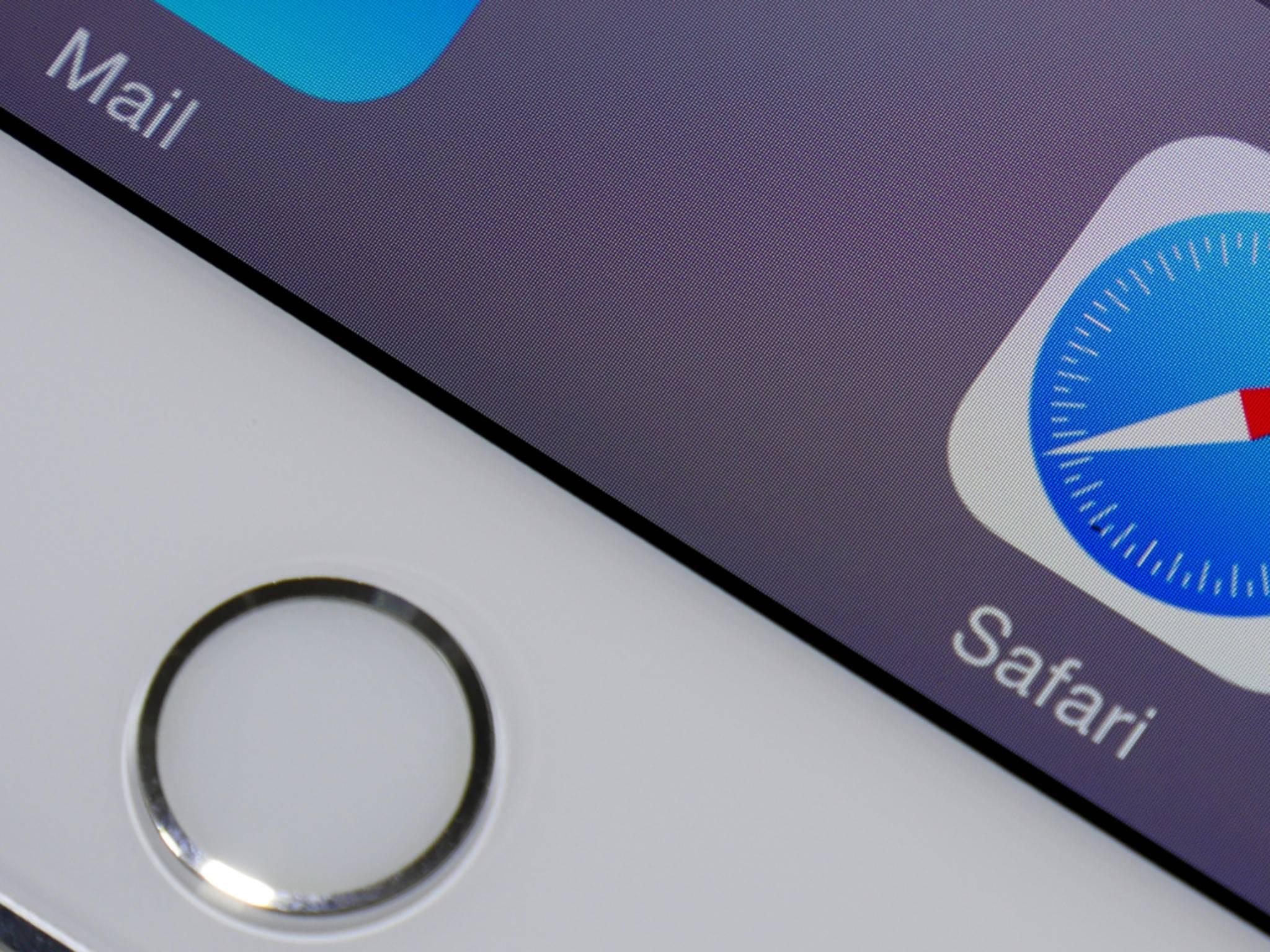 Das iPad Air 2 hat nun auch einen Fingerabdrucksensor.