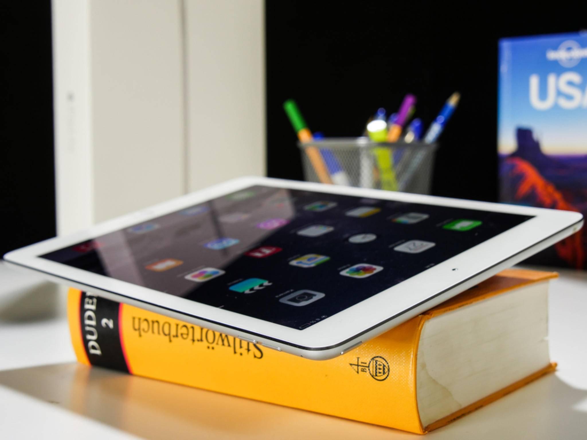 Schon das iPad Air 2 misst 9,7 Zoll – das iPad Air Pro soll noch größer werden.