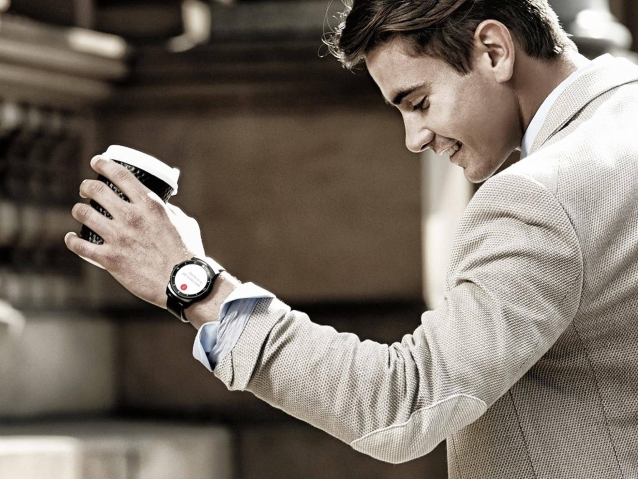 Smartwatches wie die LG G Watch R werden immer beliebter.