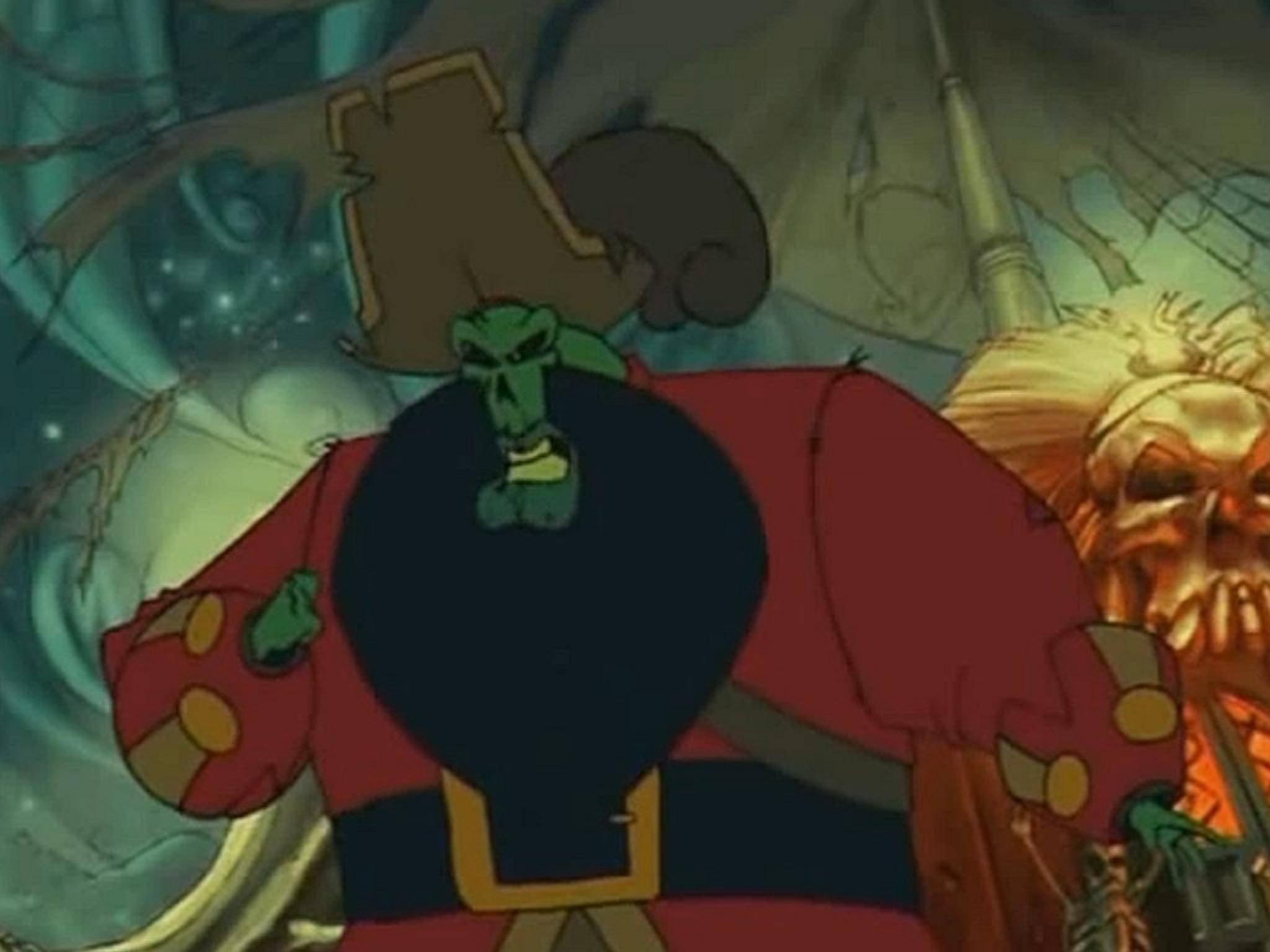 Der untote Pirat LeChuck ist der Bösewicht aus Monkey Island.