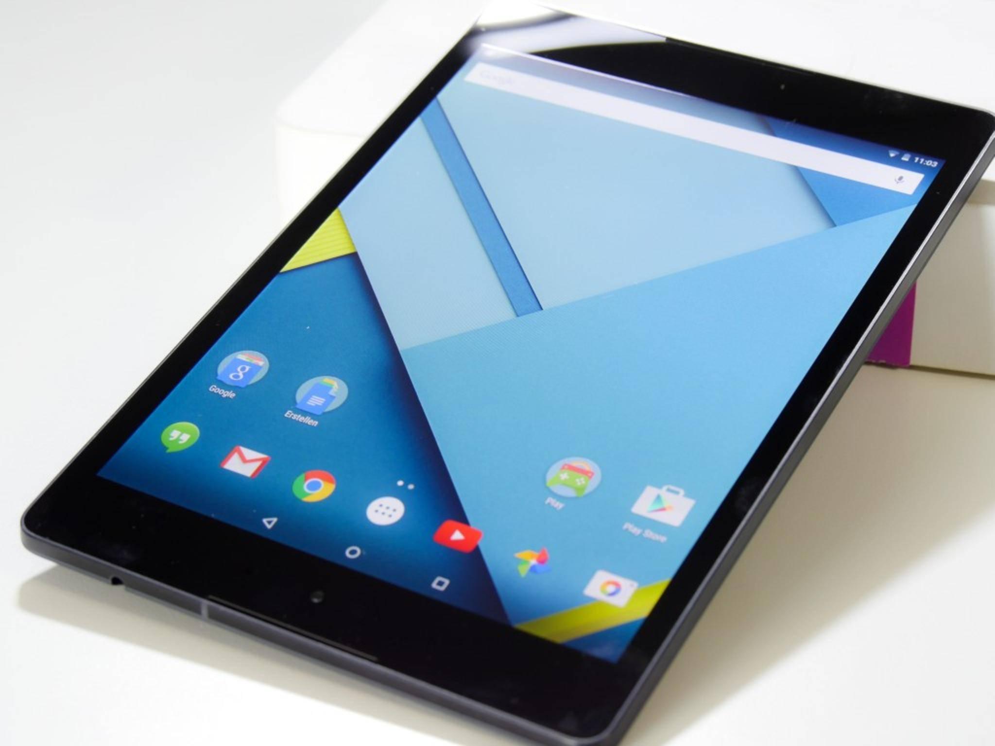 Mit einem Format von 4:3 ist das Nexus 9 ein Novum unter den Tablets von Google.