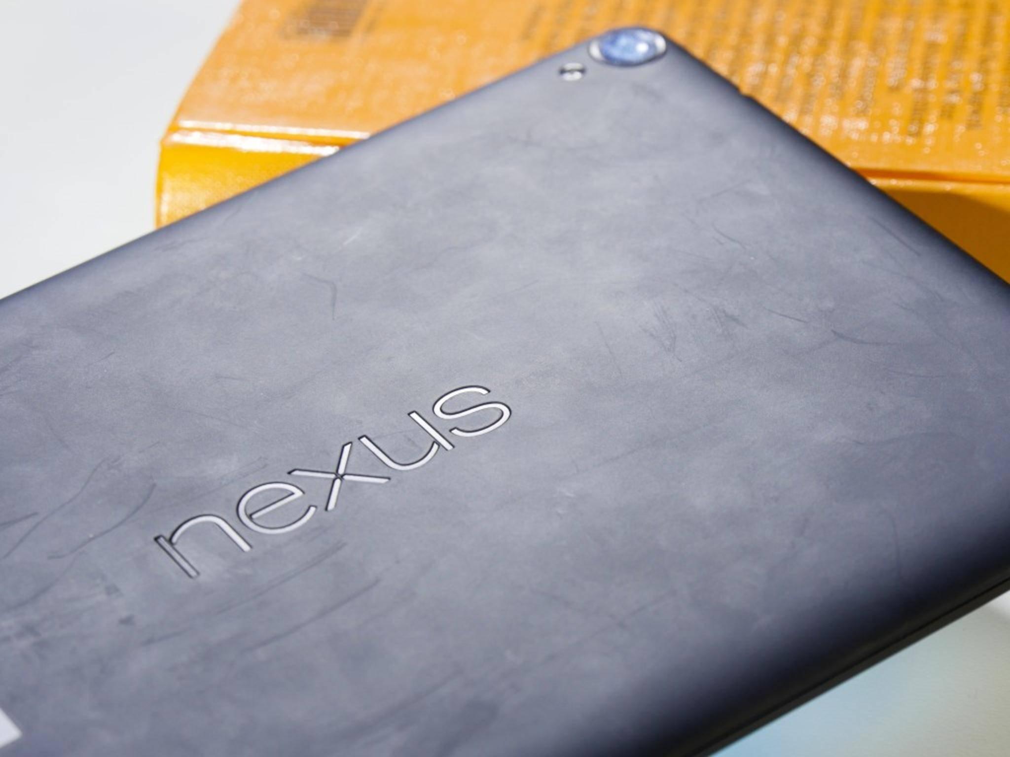Google Nexus 9 Rückseite